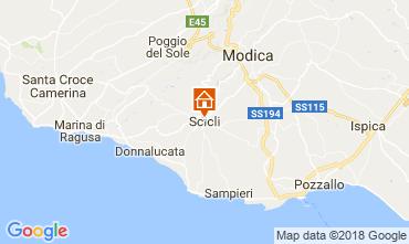 Map Scicli Apartment 115140