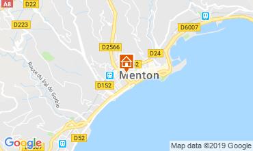 Map Menton Studio apartment 118636
