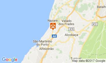 Map Nazaré Apartment 109752