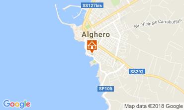 Map Alghero Apartment 114227