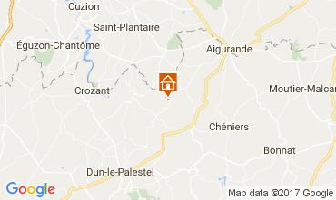 Map La Souterraine House 107716