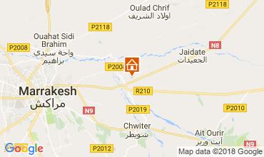 Map Marrakech Villa 115912