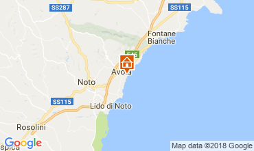Map Avola Villa 113747