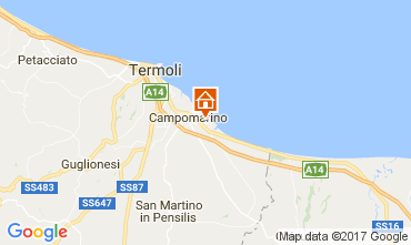 Map Campomarino Apartment 107533
