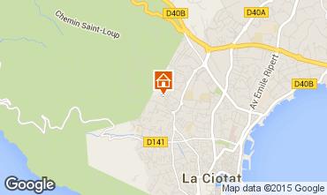 Map La Ciotat Apartment 78012