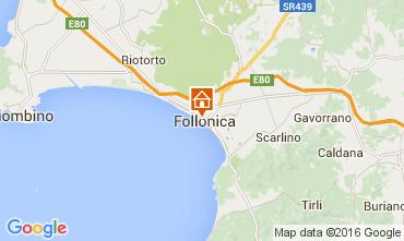 Map Follonica Apartment 85671