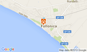 Map Follonica Apartment 85671