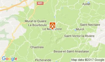 Map Le Mont Dore Apartment 3890