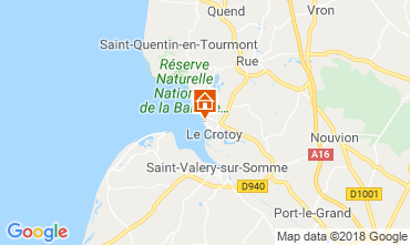 Map Le Crotoy Apartment 116913