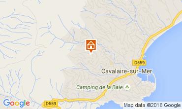 Map Cavalaire-sur-Mer Villa 53296