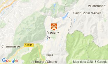 Map Vaujany Apartment 115057