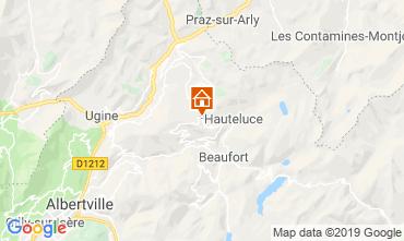 Map Les Saisies Chalet 51561
