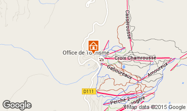 Map Chamrousse Apartment 28873