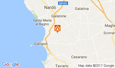 Map Gallipoli Studio apartment 99795