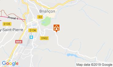 Map Briançon Apartment 102509