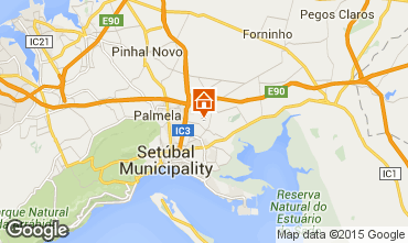 Map Setubal Self-catering property 73535