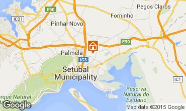 Map Setubal Self-catering property 73535