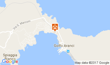 Map Aranci Gulf Apartment 85361
