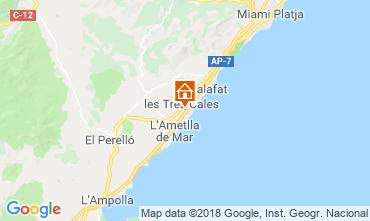 Map La Ametlla de Mar Villa 108717