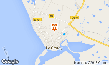Map Le Crotoy House 79874