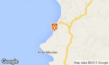 Map Sainte Anne (Martinique) Studio apartment 97684
