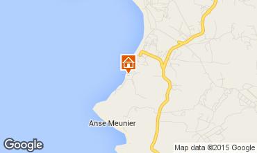 Map Sainte Anne (Martinique) Studio apartment 97684