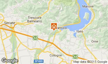 Map Sarnico Apartment 37777