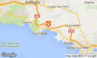 Map La Ciotat Apartment 5919
