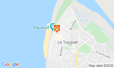 Map Le Touquet Apartment 7771