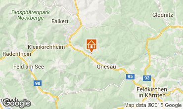 Map Bad Kleinkirchheim Flat 35449