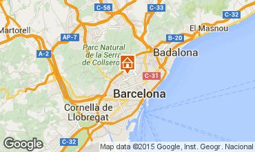 Map Barcelona Apartment 81207