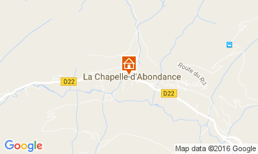 Map La Chapelle d'Abondance Apartment 48985