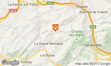 Map Le Grand Bornand Apartment 95442