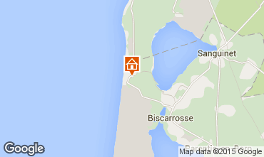 Map Biscarrosse B&B 77728