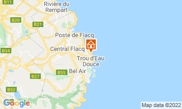 Map Trou d'eau douce Apartment 76039