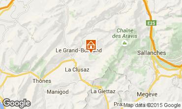 Map Le Grand Bornand Apartment 1365