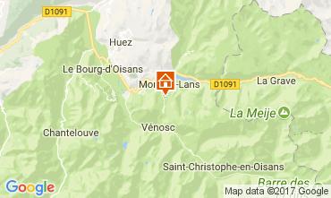 Map Les 2 Alpes Apartment 38794