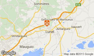 Map Lunel Villa 99479
