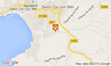 Map Les Lecques Apartment 103467