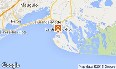 Map Port Camargue Studio apartment 98176