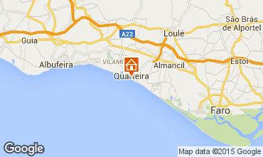 Map Quarteira Apartment 88628