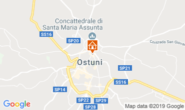 Map Ostuni Villa 118211