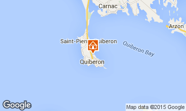 Map Quiberon Apartment 28770