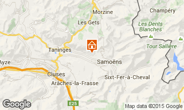 Map Morillon Grand Massif Apartment 96789