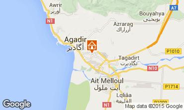 Map Agadir Apartment 22477