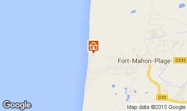 Map Fort Mahon Studio apartment 67419