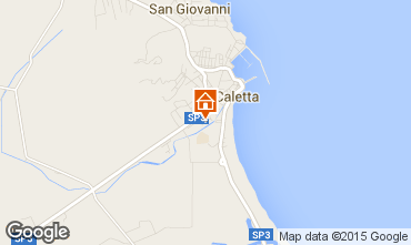 Map La Caletta Apartment 68790