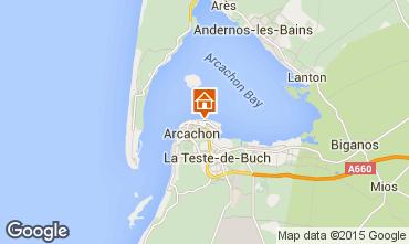 Map Arcachon Apartment 67051
