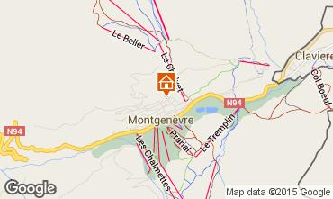 Map Montgenevre Studio apartment 66833