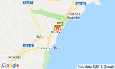 Map Avola Apartment 117345